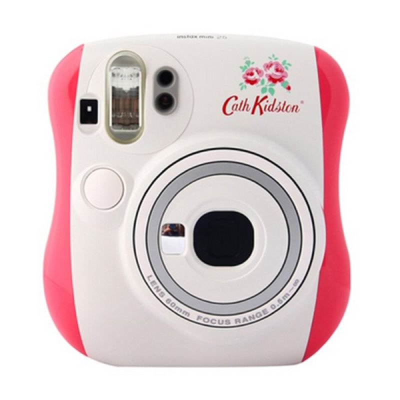 Fujifilm Instax Mini Cath Kidson 25s Pink Kamera Polaroid