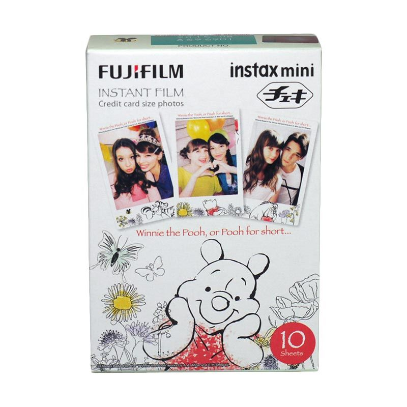 Fujifilm Refill Instax Mini Film New Pooh