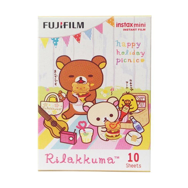 Fujifilm Instax Mini Rilakkuma Picnic Film [Refill]