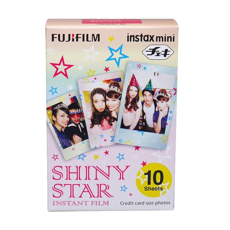Fujifilm Shiny Star Refill Film for Instax Mini
