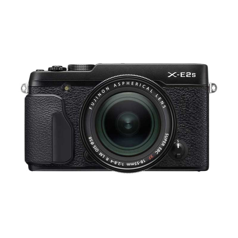 Fujifilm X-E2S Kit 18-55mm Kamera Mirrorless - Hitam + Instax mini 70