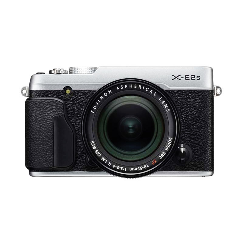 Fujifilm X-E2S Kit 18-55mm Silver + Instax Mini 70 + SD Card 16gb