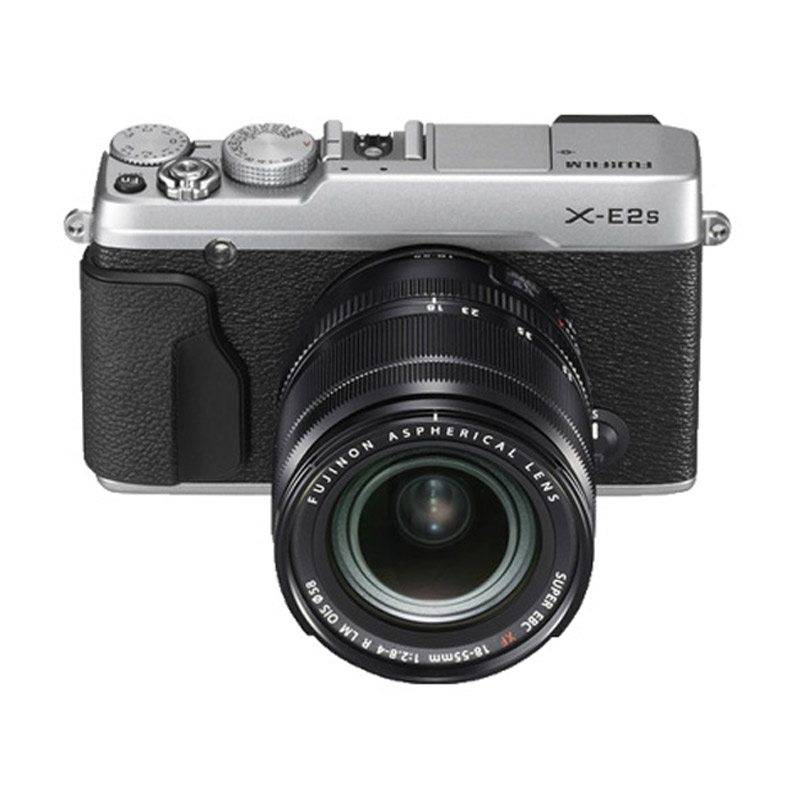 Fujifilm X-E2S Kit XF 18-55mm Kamera Mirrorless - Silver + INSTAX MINI 70 + SD ULTRA 16GB
