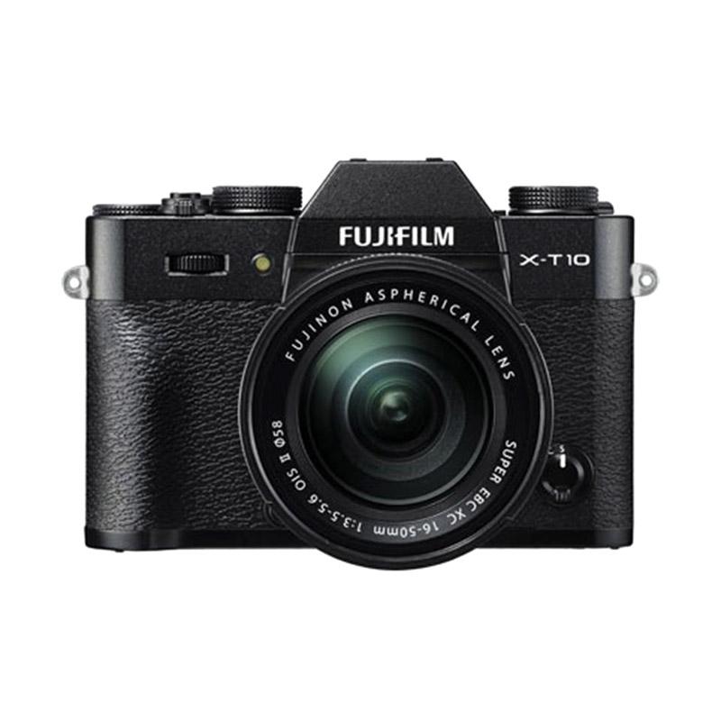 Fujifilm X-T10 + 16-50 Black Kamera Mirrorless