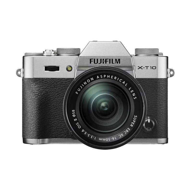 harga Fujifilm X-T10 16-50 mm Silver Kamera Mirrorless Blibli.com