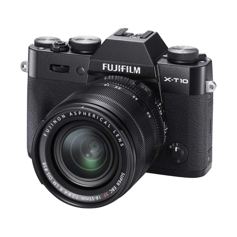 Fujifilm X-T10 18-55mm Black Kamera Mirorrless