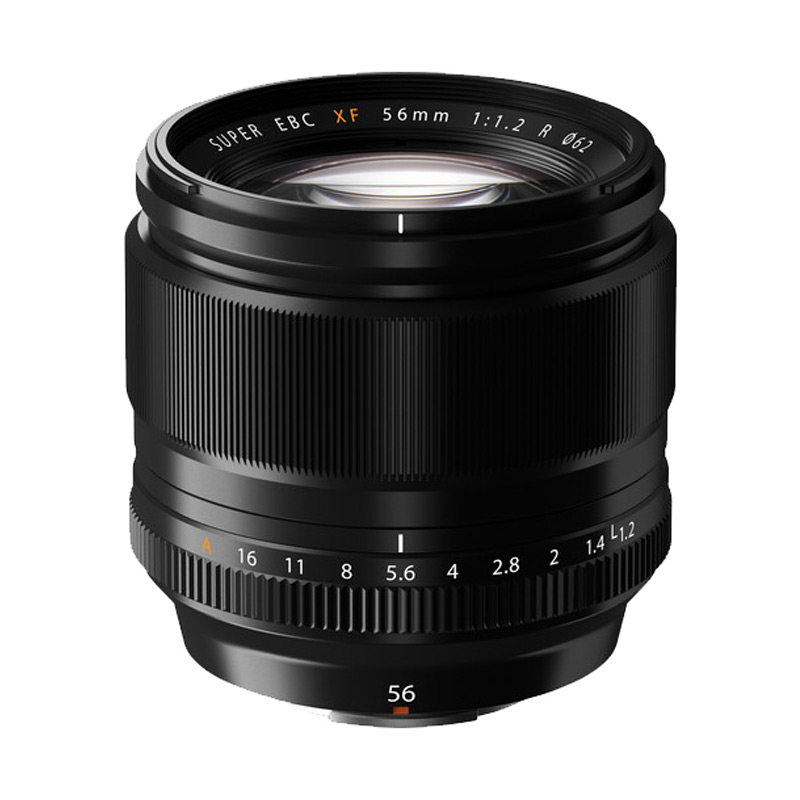 Fujifilm XF 56mm F1.2R Lensa Kamera - Black