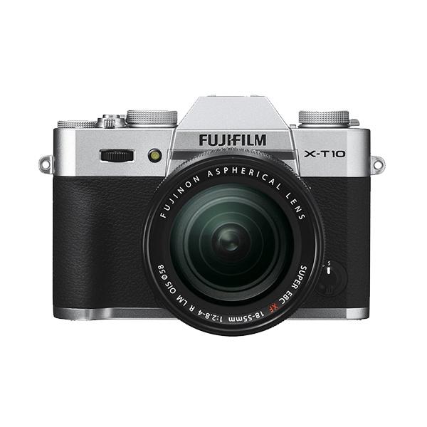 Hot Deals - Fujifilm X-T10 18-55mm Silver Kamera Mirrorless