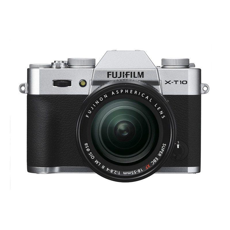Fujifilm X-T10 Silver Kamera Mirrorless [18-55 mm]