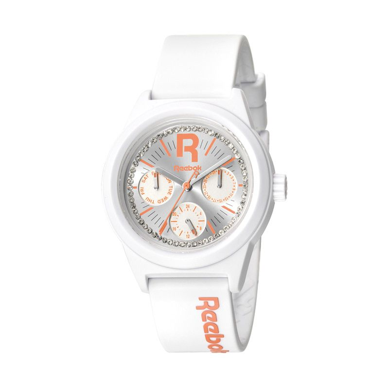 Reebok Classic R Drop Dazzle RB RC-CDD-L5-PWPW-WC Crisp White Jam Tangan Wanita