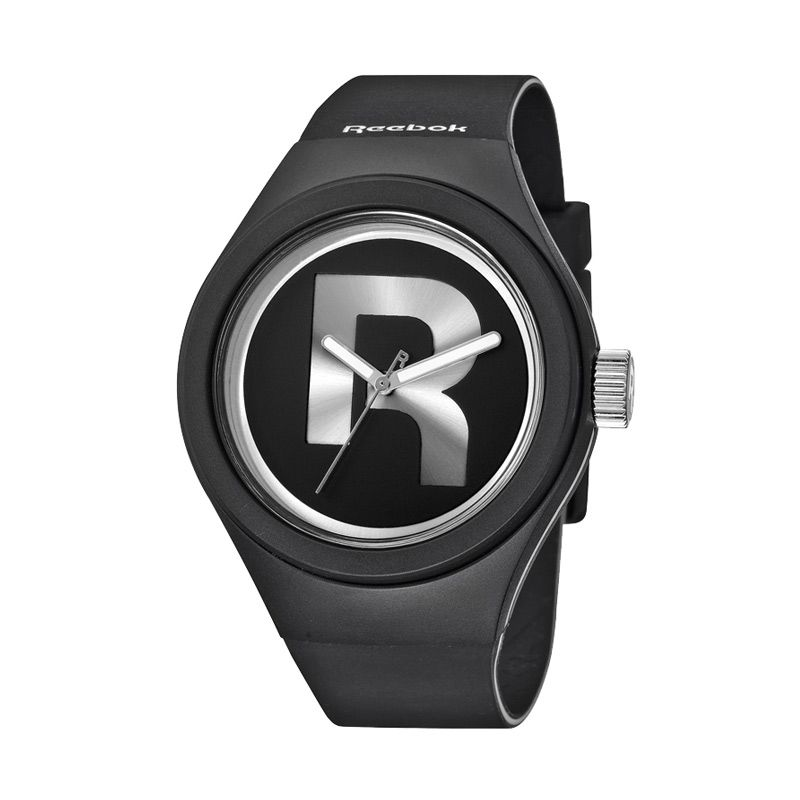 Reebok Icon Drop Rad RB RC-IDR-G2-PBIB-B1 Black Silver Jam Tangan Pria