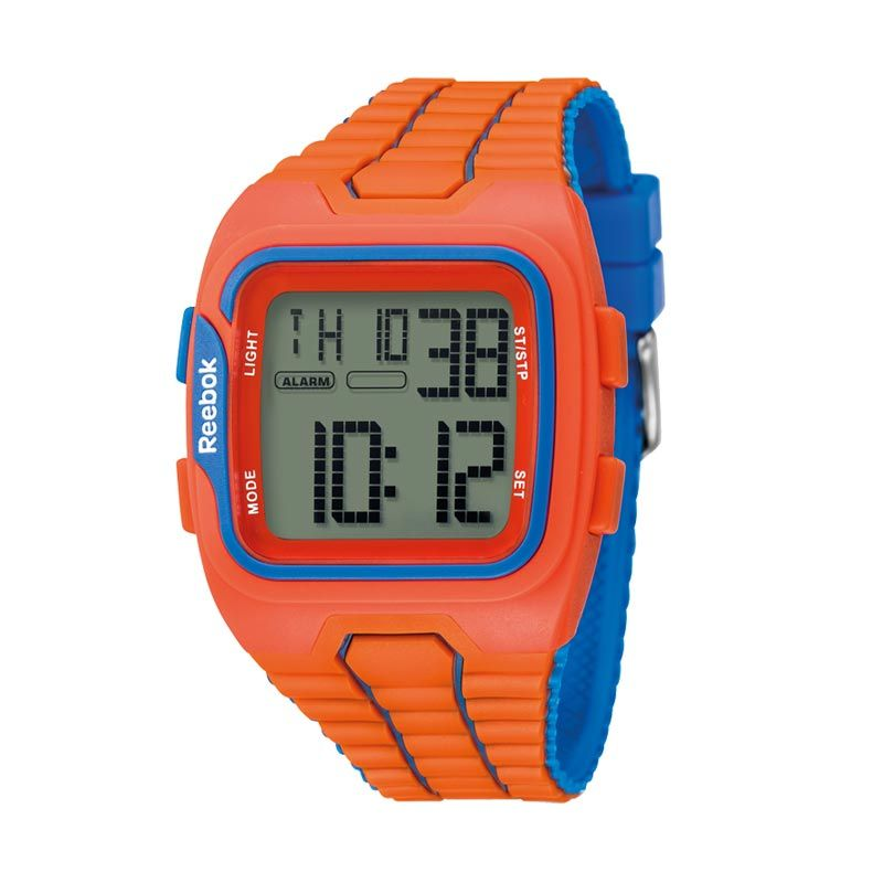 Reebok RB RF-WS1-G9-POPO-OL Workout SZ1 Orange Blue Jam Tangan Pria