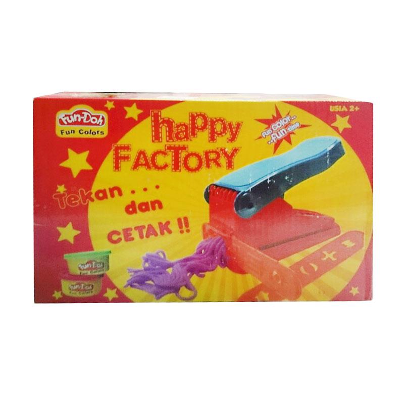 Fun Doh Happy Factory Mainan Anak