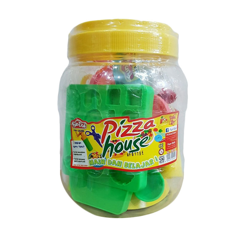 Fun Doh Pizza House Mainan Anak