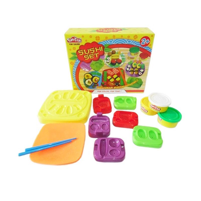 Fun Doh Sushi Set Mainan Anak