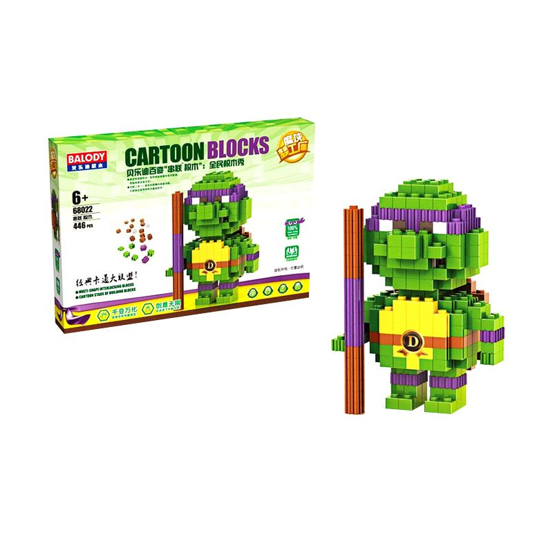 BALODY 68022 Donatello Purple Tmnt Mainan Anak