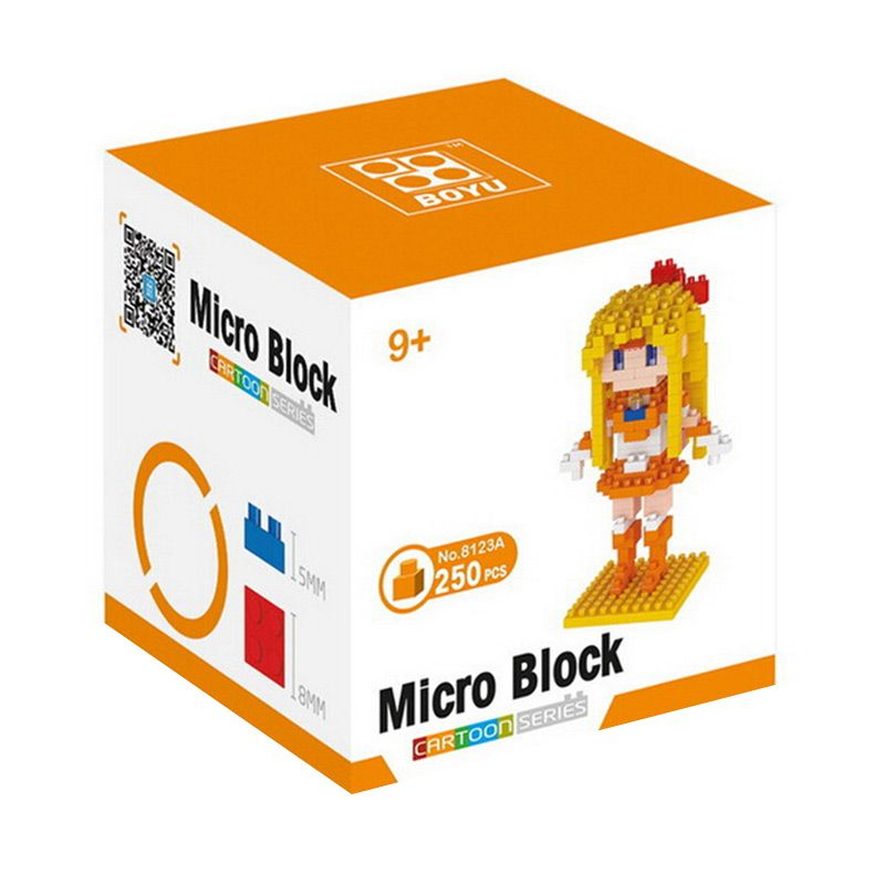 BOYU 8123A Orange Sailor Mainan Blok & Puzzle
