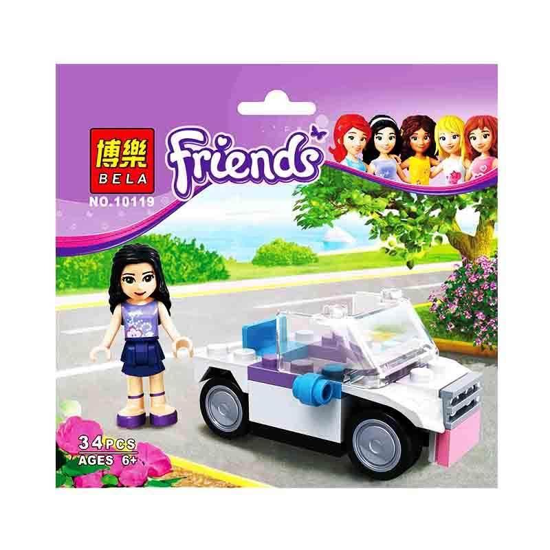Bricks Bela Girls 10119 Mainan Blok dan Puzzle