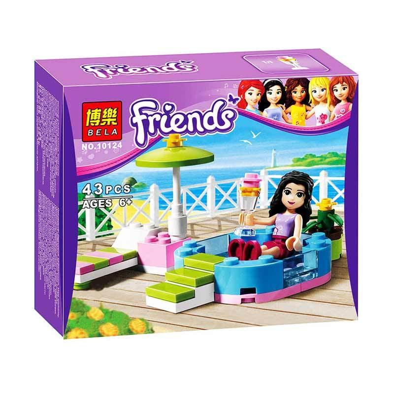 Bricks Bela Girls 10124 Mainan Blok dan Puzzle