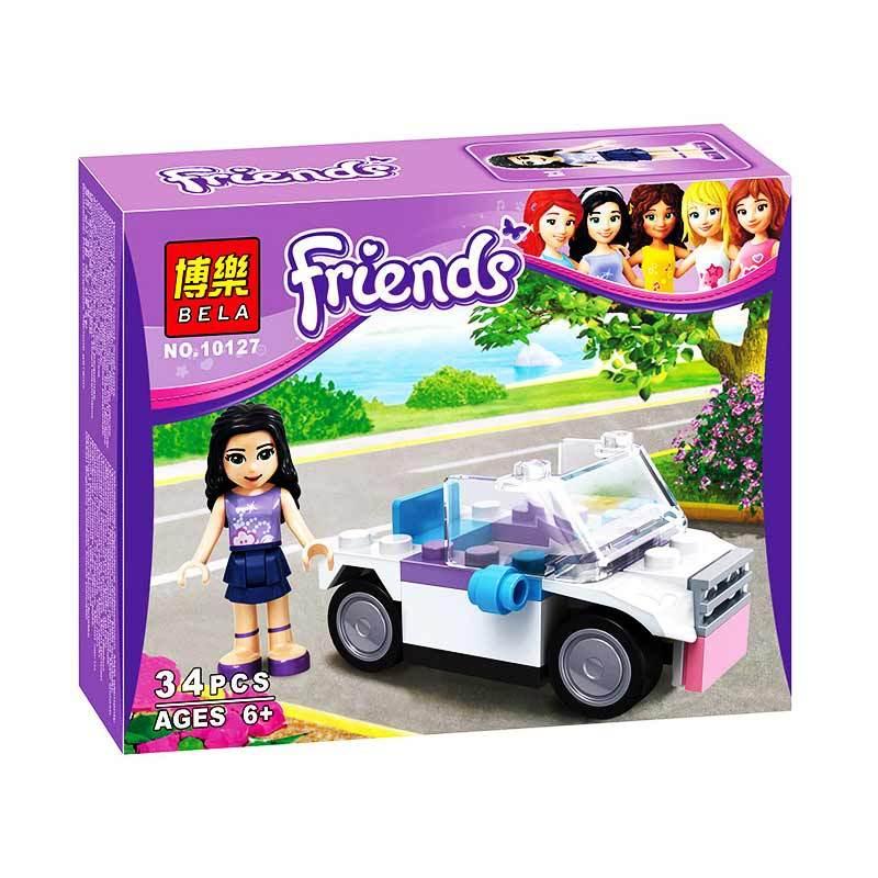 Bricks Bela Friends Emma 10127 Mainan Blok dan Puzzle