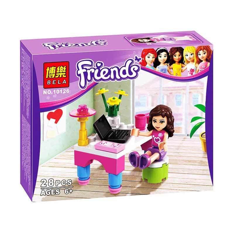 Bricks Bela Girls 10126 Mainan Blok dan Puzzle