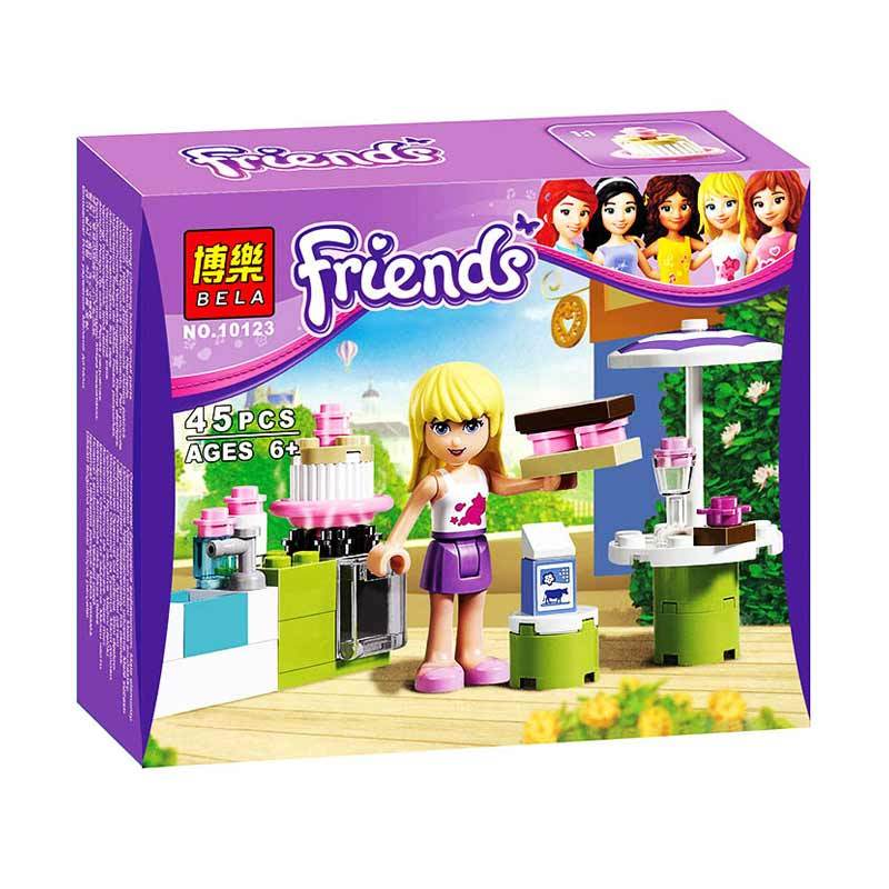 Bricks Bela Friends Stephanie 10123 Mainan Blok dan Puzzle