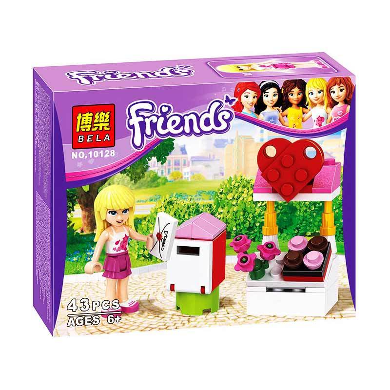 Bricks Bela 10128 Girls Mainan Blok dan Puzzle
