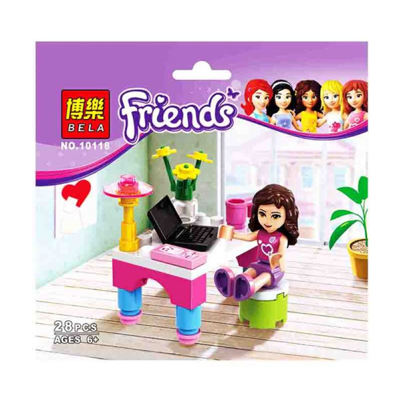 Bricks Bela Girls 10118 Mainan Blok dan Puzzle