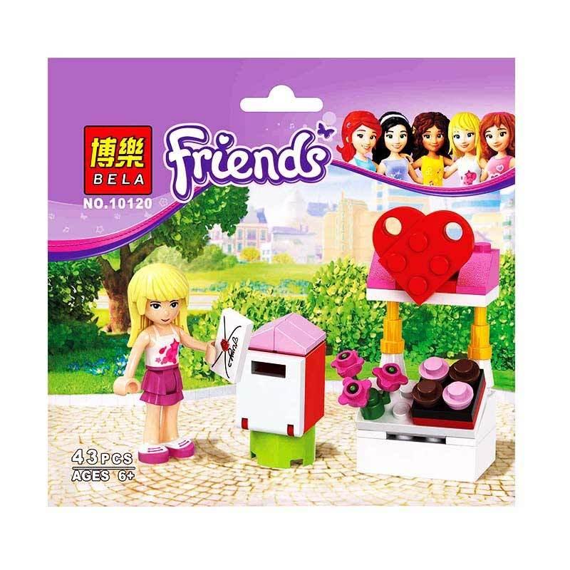 Bricks Bela Girls 10120 Mainan Blok dan Puzzle