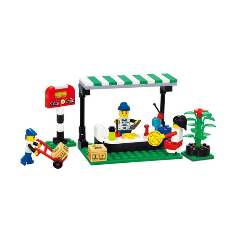 Wange 26142 Street food Mainan Blok dan Puzzle