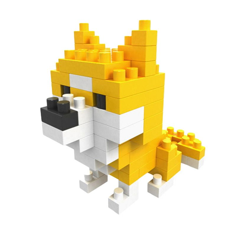 BOYU 8201A SHIBA Mainan Blok & Puzzle
