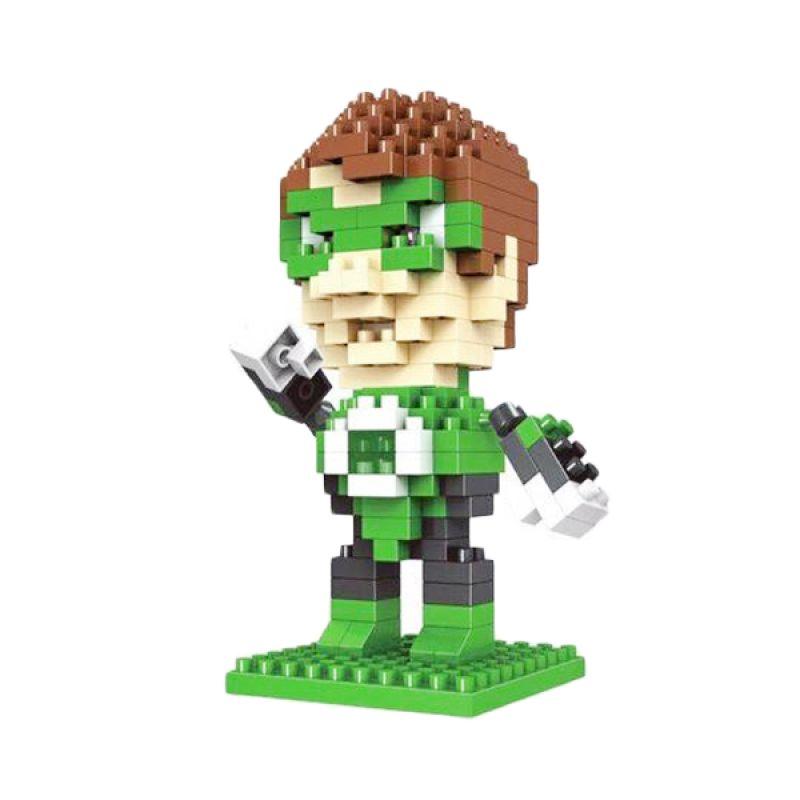 Funbrick Indonesia Hsanhe 8111 Green Lantern Mainan Blok & Puzzle