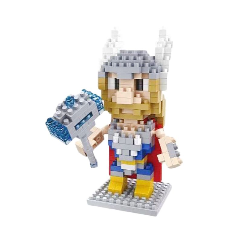 Funbrick Indonesia Hsanhe 8115 Thor Mainan Blok & Puzzle