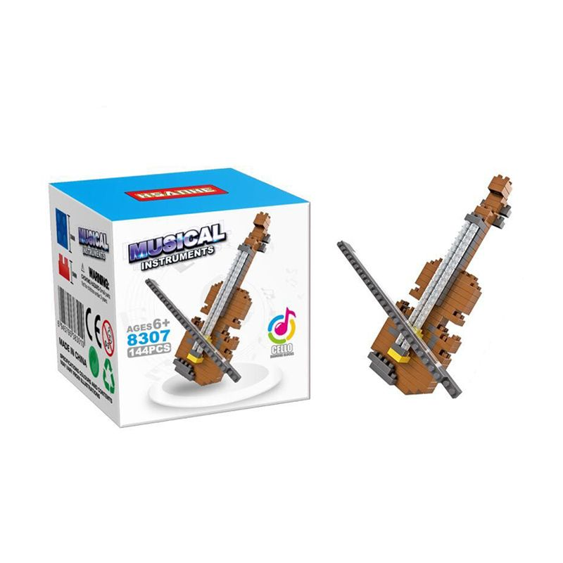Hsanhe 8307 Cello Mainan Blok & Puzzle
