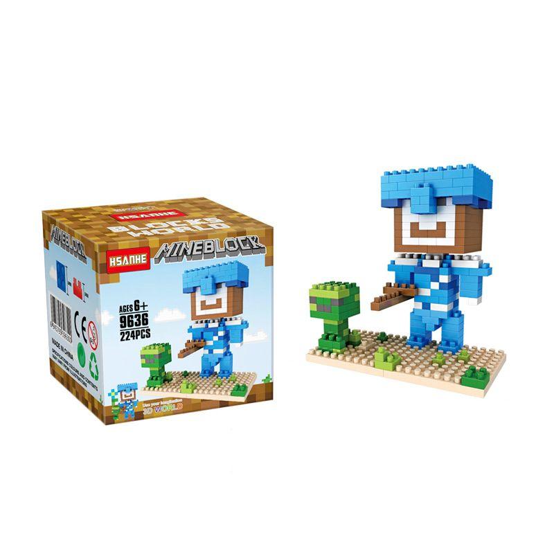 Hsanhe 9636 Mainan Blok & Puzzle