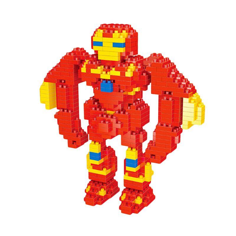 Wisehawk 2203 Steel Madman Red Mainan Blok & Puzzle