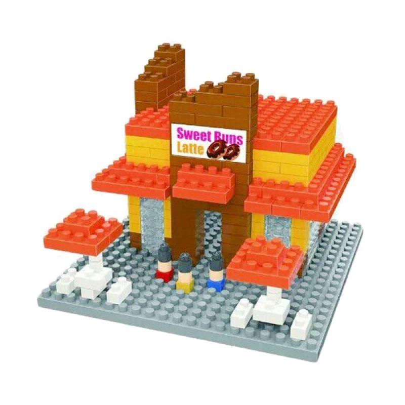 Wisehawk 2322 Sweet Buns Mainan Blok & Puzzle