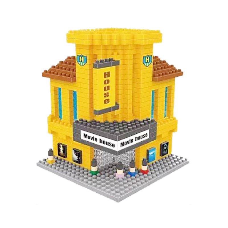 Wisehawk 2325 Hollywood Cinema Mainan Blok & Puzzle
