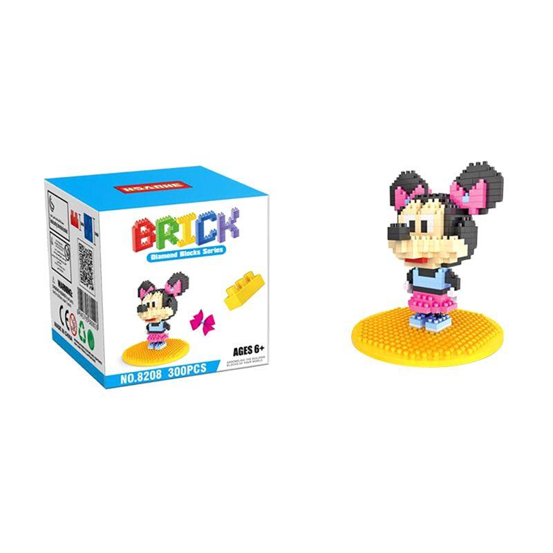 HSANHE 8208 Pink Ribbon Mainan Blok & Puzzle