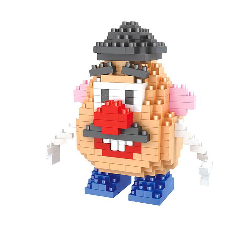HSANHE 9641 Mr Potato Head Mainan Blok & Puzzle