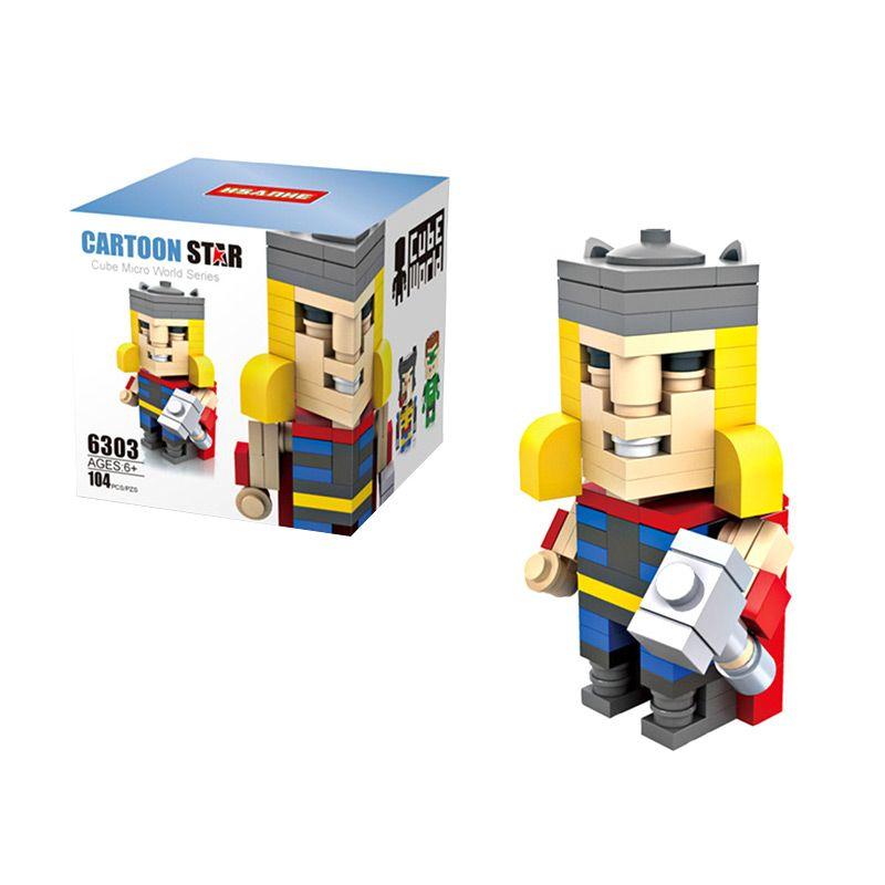 HSANHE Cube 6303 Thor Mainan Blok & Puzzle