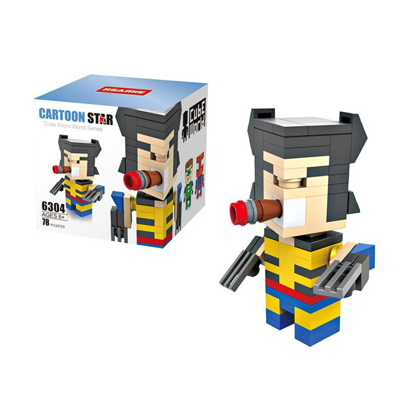 HSANHE Cube 6304 Mainan Blok & Puzzle