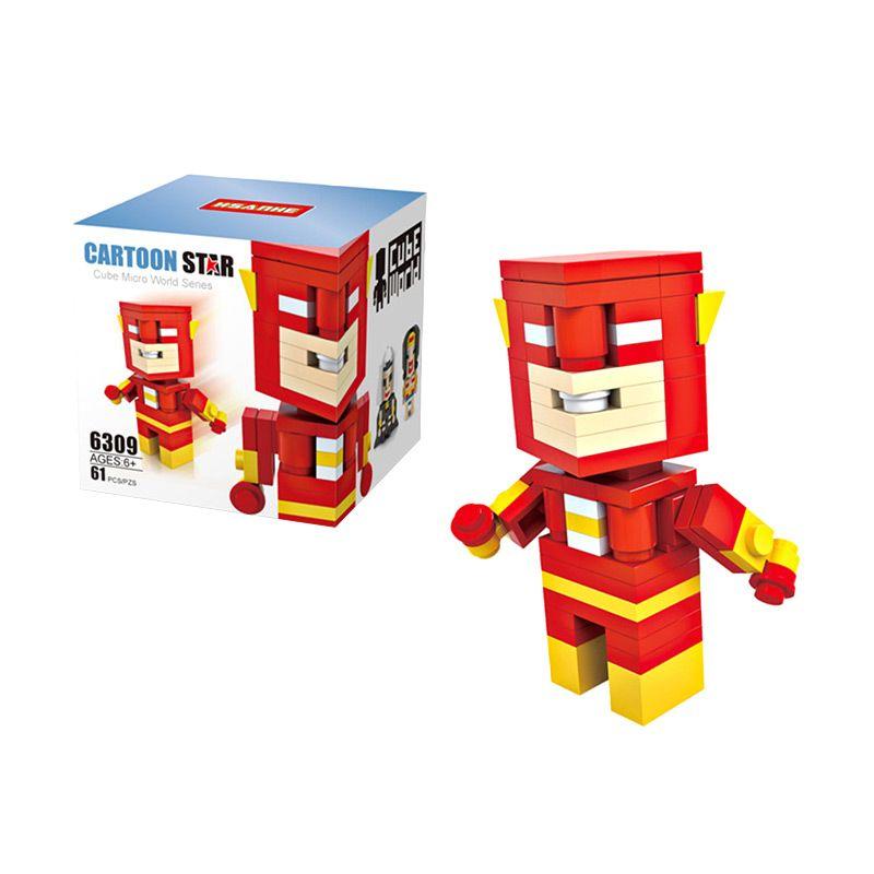 HSANHE Cube 6309 The Flash Mainan Blok & Puzzle