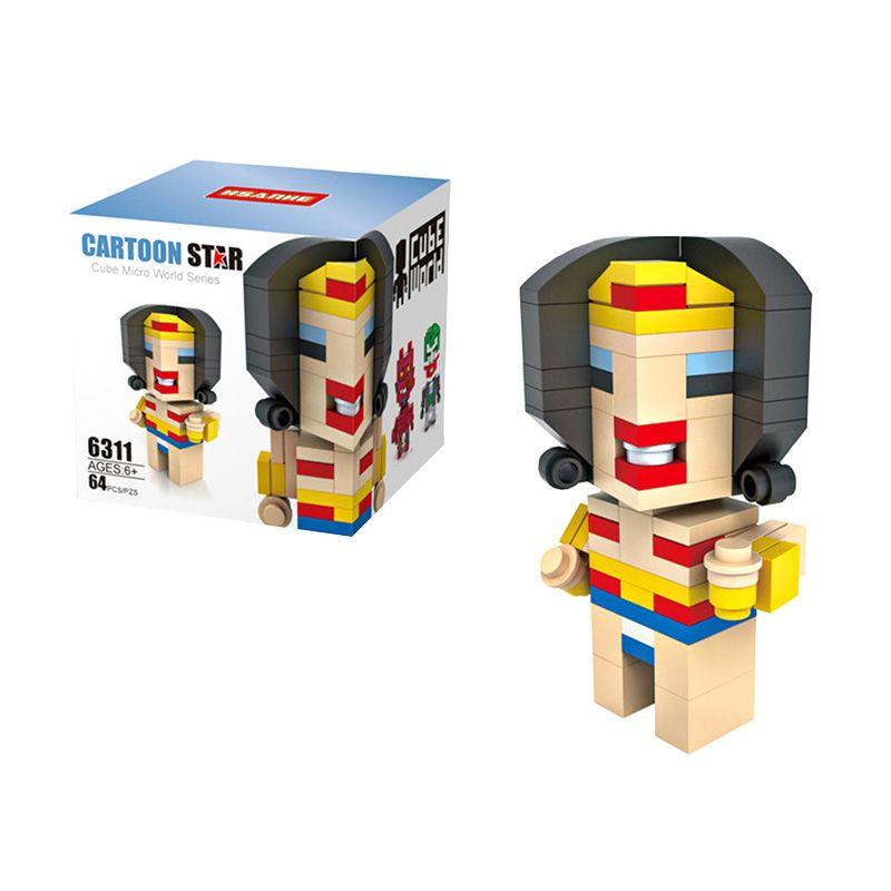 HSANHE Cube 6311 Mainan Blok & Puzzle