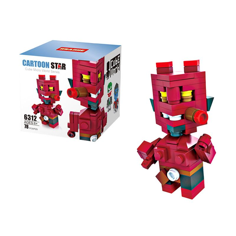 HSANHE Cube 6312 Mainan Blok & Puzzle