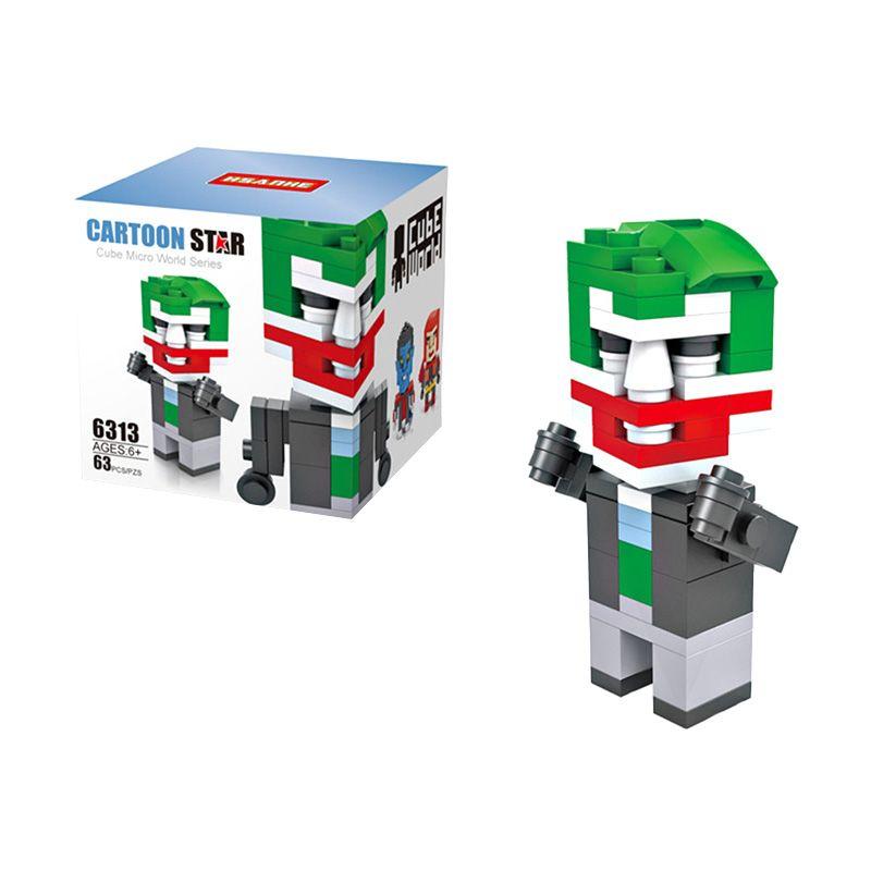 HSANHE Cube 6313 Clown Mainan Blok & Puzzle