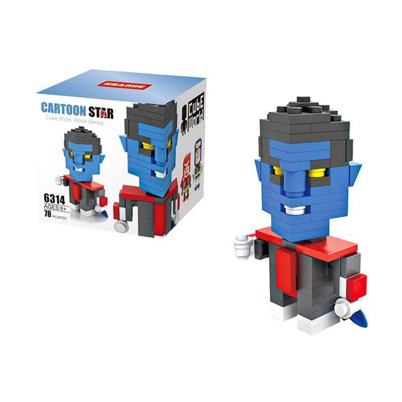 HSANHE Cube 6314 Nightcrawler Mainan Blok & Puzzle