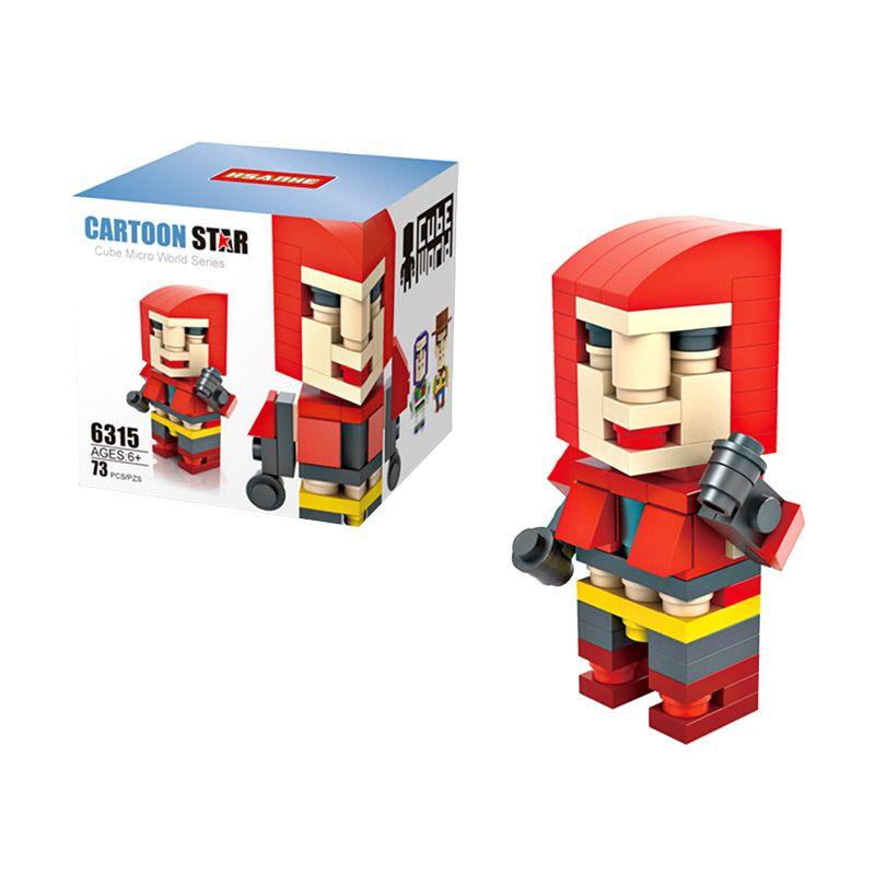 HSANHE Cube 6315 Mainan Blok & Puzzle