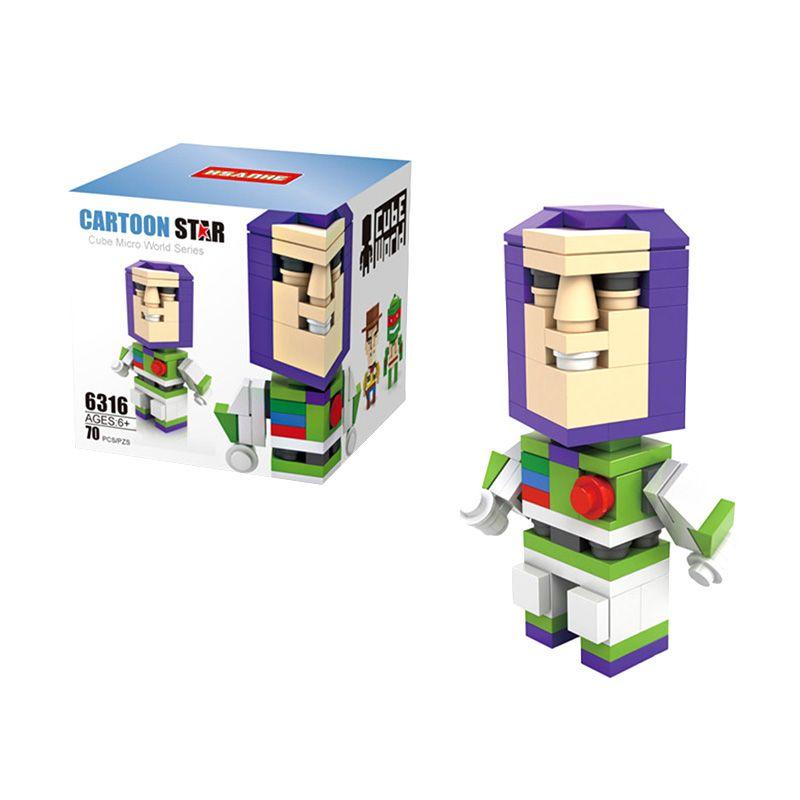 HSANHE Cube 6316 Buzz Lightyear Mainan Blok & Puzzle