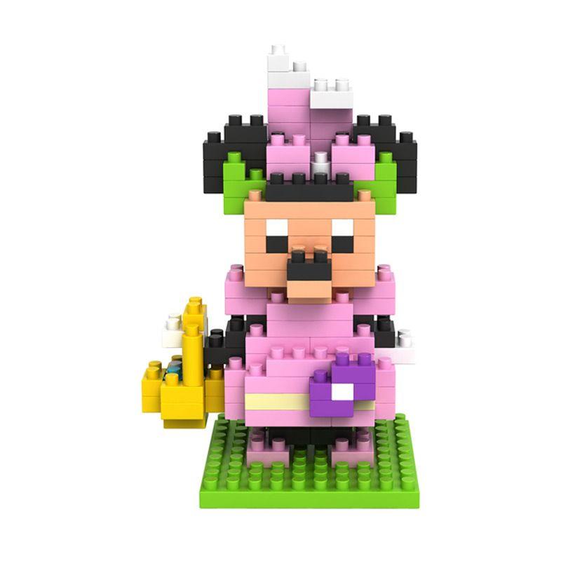Loz Easter Minnie Gift Medium 9173 Mainan Anak